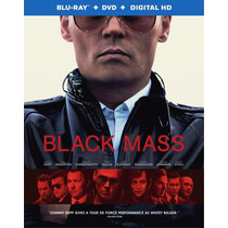 Black Mass - Pacto Criminal - Bluray + Dvd Importado Usa