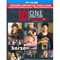 One Direction 1d. Asi Somos. La Pelicula Blu-ray En 3d