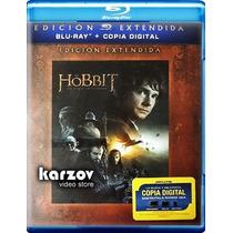 El Hobbit Extendida. Pelicula Un Viaje Inesperado Blu-ray