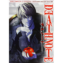 Death Note - Dvd - Serie + Ova Relight - Subt. Español -