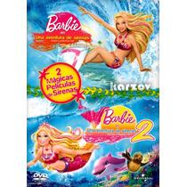 Barbie En Una Aventura De Sirenas 1 Y 2, Box Set, Dvd