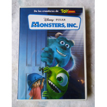 Monster Inc, Pelicula De Disney-pixar En Formato Dvd