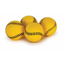 Pelotas Para Beisbol Sklz Bateo 50 Piezas Amarillo Neón