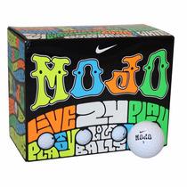 Pelotas De Golf Nike Mojo 24 Pack Blancas Y 4 Colores
