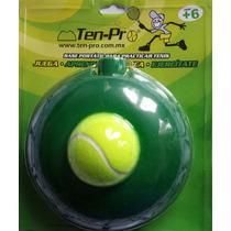 Base Resorte Y Pelota Para Entrenar Tenis