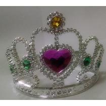 12 Hermosas Coronas Plasticas De Princesas Para Vento