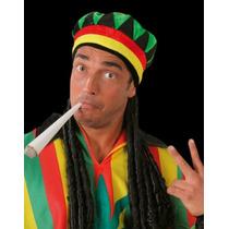 Peluca De Rastas Con Gorro Para Fiesta/disfraz Rastafari