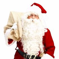 Peluca Barba Y Bigote Santa Claus Clos E16 Disfraz Navidad