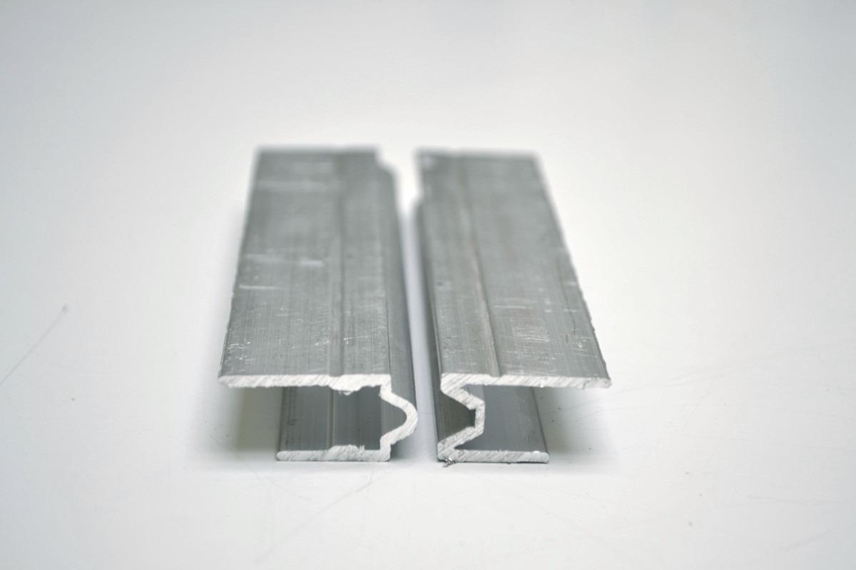 Perfil de aluminio hembra macho para fabricar estuches - Perfiles de aluminio para toldos ...