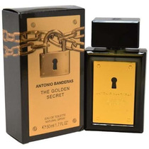 Perfume Antonio Banderas El Spray De Dorado Secret Men Agua