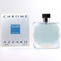 Perfume Azzaro Chrome 100ml Dama, Saldo Importado
