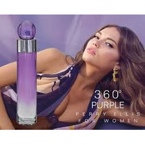 Perfume 360 Grados Purple 100 Ml Perry Ellis ¡original¡