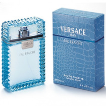 Perfume Versace Man Eau De Fraiche 100ml Caballero Kuma