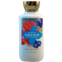 Crema Bath And Body Works Morocco Orchid And Pink Amber
