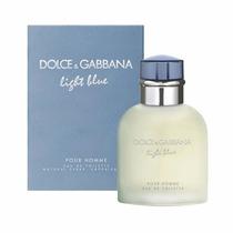 Perfume Original Dolce & Gabbana Light Blue Caballero 125 Ml