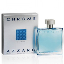 Perfume Chrome Azzaro Caballero 100 Ml Original Nuevo