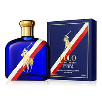 Perfume Polo Red White & Blue Caballero 125 Ml Original Nuev