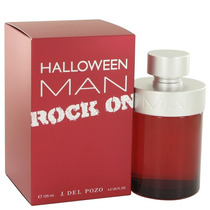 Perfume Halloween Man Rock On By Jesus Del Pozo 125 Ml.