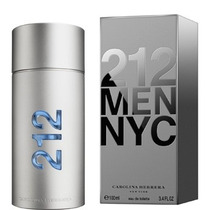 212 Men Carolina Herrera 100ml Edt - Perfume Original