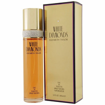 Perfume Original White Diamonds Dama 100 Ml Elizabeth Taylor
