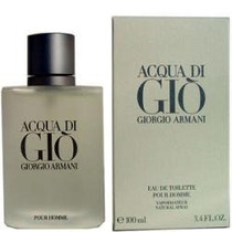 Mn4 Perfume Acqua De Gio For Men By Giorgio Armani 100 Ml