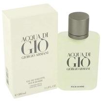 Perfume Acqua Di Gio De Giorgio Armani 200ml Caballero Kuma