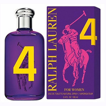 Big Pony 4 Ralph Lauren Dama 100 Ml Nuevo Original Sellado