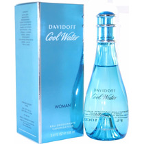 Cool Water Davidoff Dama 100 Ml Original, Nuevo Y Sellado
