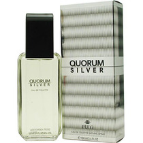 Perfume Original Quorum Silver Caballero 100 Ml Antonio Puig
