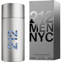 Perfume 212 Men Ch Caballero 100 Ml Nuevo Y Original