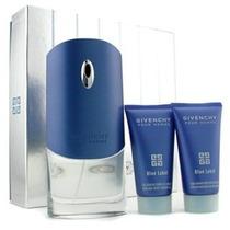 Perfume Givenchy Blue Label Colonia Set De Regalo Para Los