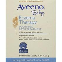 Fragancia Aveeno Bebé Eczema Terapia Tratamiento Calmante Ba
