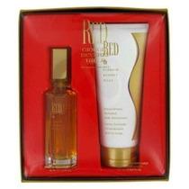 Perfume Rojo Por Giorgio Beverly Hills Lote - 1,6 Oz Eau De