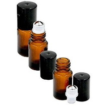 Gran Parfums 2 Ml Vacía Botellas De Vidrio Ámbar Micro Mini