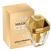 Perfume Lady Million Eau My Gold By Paco Rabanne 80 Ml.