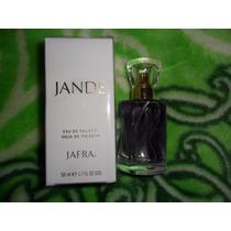 Perfume Jafra Agua De Tocador Jande 50ml