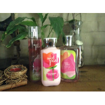 Bath And Body Works Rico Y Unico Trio Aroma Sweet Pea