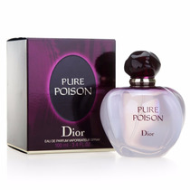 Pure Poison Christian Dior Dama 100 Ml Original, Nuevo Y Sel