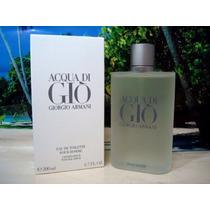 Perfume Aqua Di Gio 200ml Nuevo Cellado!