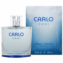 Perfume Original Carlo Corinto Cool Caballero 100 Ml