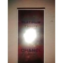 Perfume Egoiste Platinum By Chanel Caballero 100 Ml