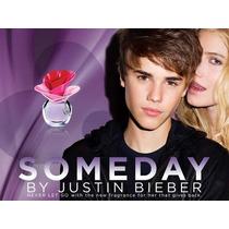 Perfume Someday Dama Justin Bieber 100 Ml El Mejor Precio !!