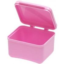 Box Dental - Dentadura Tazón Tapa Articulada Dientes Falsos