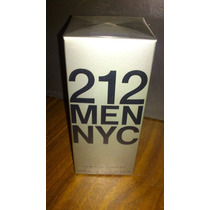 Perfume Originales 212 Nyc Carolina Herrera 100ml Caballero