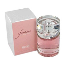 Perfume Original Boss Femme Dama 75 Ml. By Hugo Boss!!!