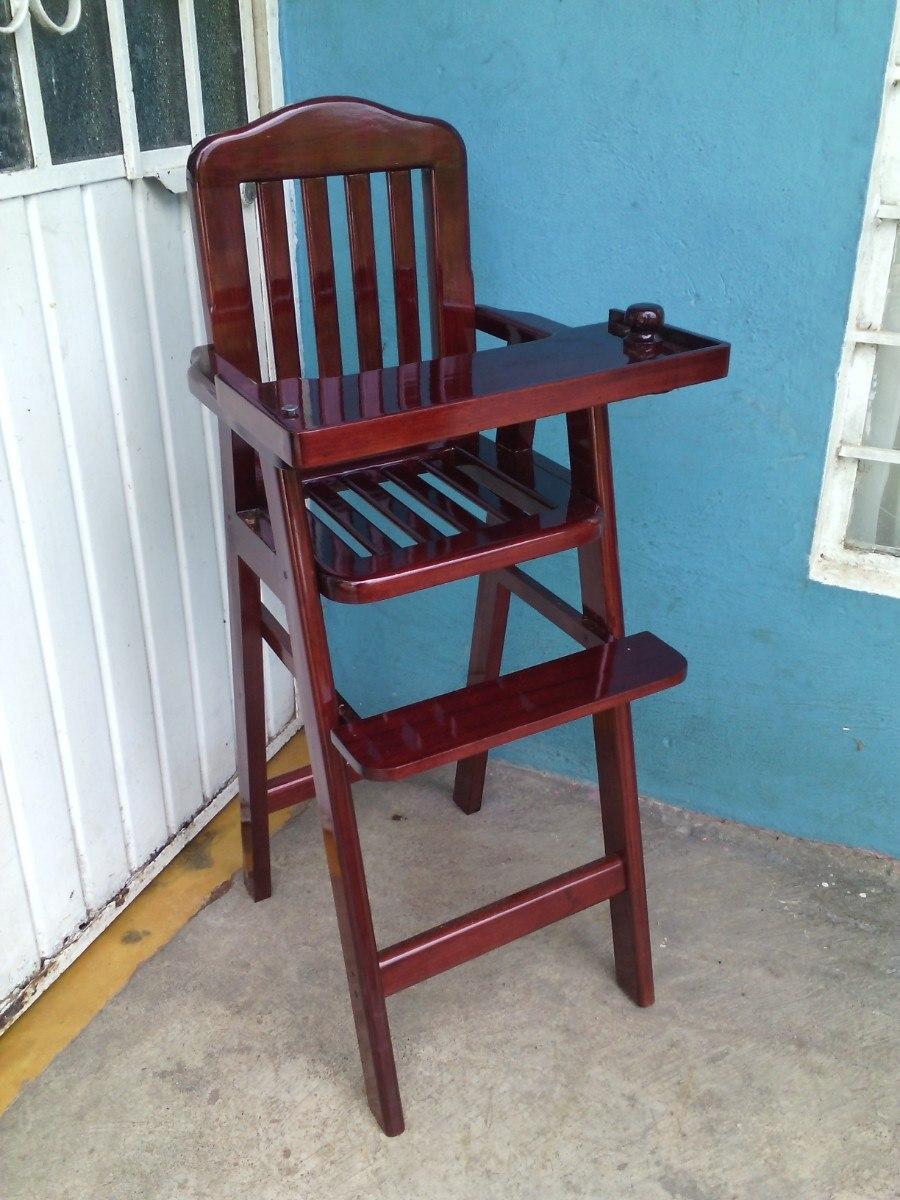 Periquera para bebe en madera en mercadolibre - Silla de mesa para bebe ...