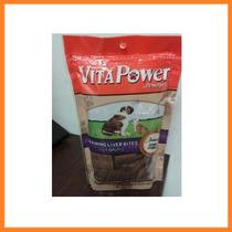 Premios Para Perros, Vita Power De Higado 113.4 Gr, + Kota