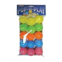 Marshall Pet Products Pop-n-bola Del Juego Paquete
