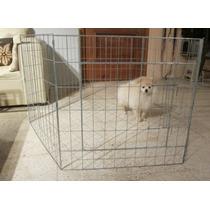 Casa Corral Para Perro O Mascota 7 Paneles 60x60