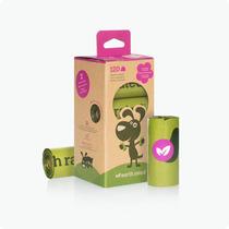 Caja Con 8 Rollos De Bolsas Poop Bags (120 Pzas)